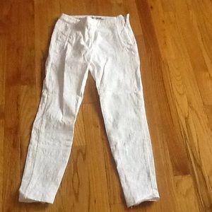 Zara Pants - Zara White Cotton Pants